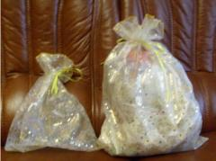 Packing decorative - a sack for gifts for New