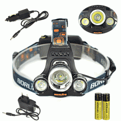 Фонарь налобный LED светильник BL 3000 | фонарик