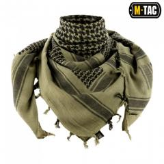 M-Tac shemagh scarf thick foliage green / black