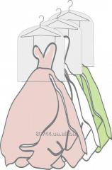 Чехол - рукав для защиты одежды на ветрине
