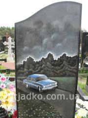 Artwork for granite, works of art. Portrait work