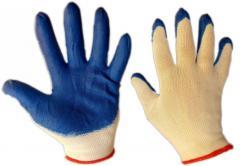 Перчатки стрейч рабочие с нитриловым покрытием