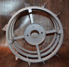 Грунтозацепы для мотоблока (железные колеса) ф 450