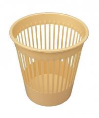 Корзина полипропиленовая для мусора (Горизонт,