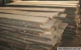 Boards not cut of different breeds of wood,