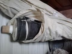 The fabrics rubberized 301V, ATOM-1, ANZM, AHKR,