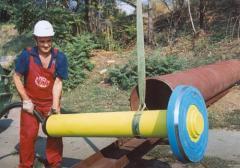 Оборудование для забивки и извлечения свай, пневмопробойники для забивания труб в скважину.