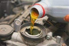 """Hydraulic oil of Brand """"A"""