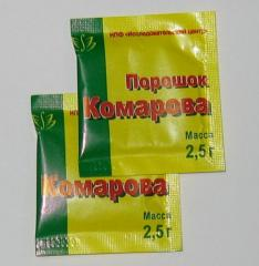 Порошок Комарова в Украине, Купить, Цена, Фото