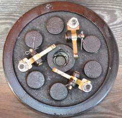 Муфта сцепления в сборе (мототрактор) 4 ручья
