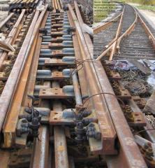 R-50 1/9 railroad switch