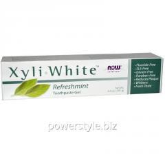 Зубная паста NOW Foods, Xyli White, 181 г