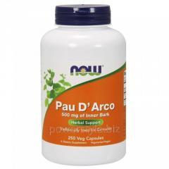 Растительный препарат NOW Foods, Pau D' Arco, 500