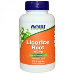 Растительный препарат NOW Foods, Licorice Root,