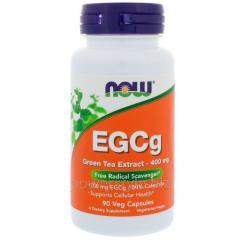 Растительный препарат NOW Foods, EGCg, Green Tea
