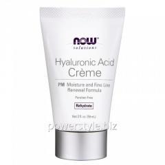 Увлажняющий Крем NOW Foods, Hyaluronic Acid Creme, PM Moisture, 59 г