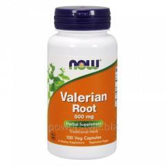 Растительный препарат NOW Foods, Valerian Root, 500 мг, 100 капсул