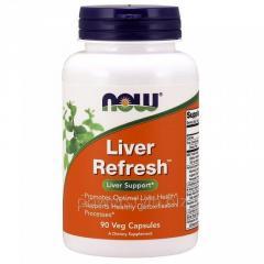 Растительный препарат NOW Foods, Liver Refresh, 90 капсул