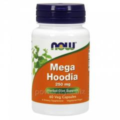 Растительный препарат NOW Foods, Mega Hoodia, 250 мг, 60 капсул