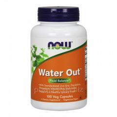 Растительный препарат NOW Foods, Water Out, Fluid