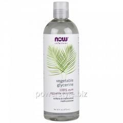Растительный глицерин NOW Foods, Vegetable Glycerine, 473 мл
