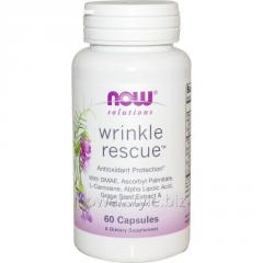 Капсулы от Морщин NOW Foods, Wrinkle Rescue, 60 капсул