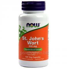 Растительный препарат NOW Foods, St. John's Wort, 300 мг, 100 капсул