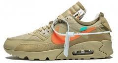 Мужские кроссовки Nike Air Max 90 OFF-WHITE 'Desert Ore'