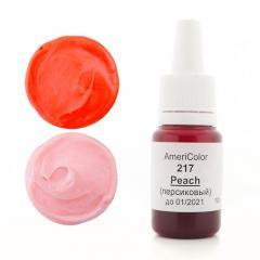Гелевый пищевой краситель AmeriColor, персиковый,