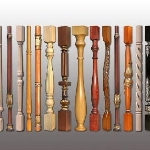 Rail-posts from a pine to buy rail-posts from a