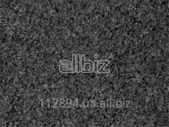 Black granite of a gabbr