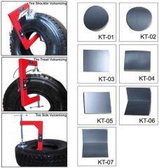 Вулканизатор для ремонта грузовых шин методом