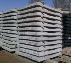 Reinforced concrete cross ties