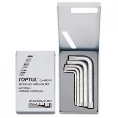 Набор ключей Spline Г-образных М5-М12 TOPTUL