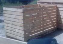 Container Apple, Vegetable Size: 1200х1000х800