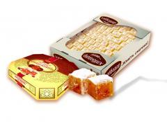 Rahat lakoum peanut. Sweeties nut for export. Nut