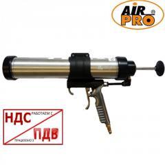 Пневматический пистолет для герметика 600 мл 2 в 1