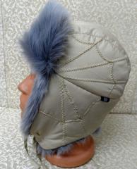 Attires are fur head, caps of fashions.