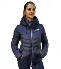 Женская черная зимняя куртка Running River
