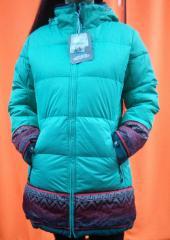 Женское зимнее полу пальто Авэкс 166