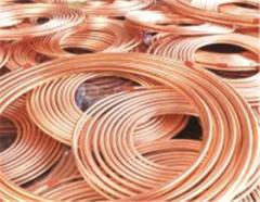 Copper from a wire