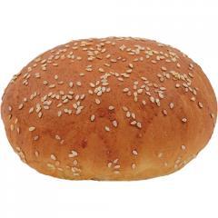 """Булочка """"Для гамбургера 60 L"""" с кунжутом"""