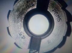 Развертка машинная насадная Ф45 пос.19