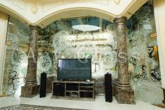 Designs all-glass in your interior - patterns on