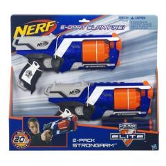 Бластер НЕРФ Бластер Nerf N-strike Elite Strongarm