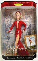Кукла барби Мерилин Джентльмены предпочитают