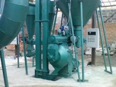 Lines for production of fuel granules