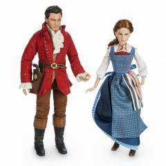 Набор кукол Бель и Гастон из фильма Красавица и