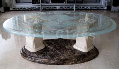 Furniture from glass, tables glass, glass bar counters - luxury elite furniture, exclusive execution