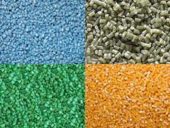 Granules are polypropylene